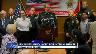Gov. Walker narrows list to replace Sheriff Clarke to 5 candidates - Video