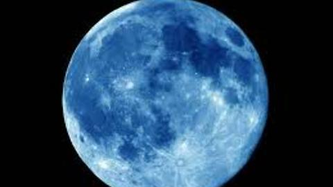 Blue Moon or Supper Moon in Pakistan