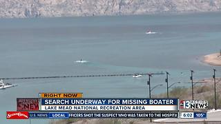 Search underway for missing boater - Video