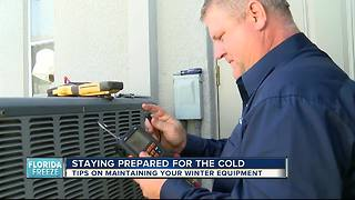 Cold weather keeping technicians busy with heating repairs - Video