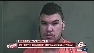 Lyft driver accused of raping Zionsville woman before driving her home - Video