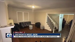 Women's non-profit buys home to fight human trafficking