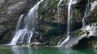 Compilation of Slovenia's stunning waterfalls in 4K - Video