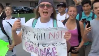 Students march to protest gun violence