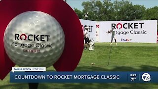 Countdown continues to 2021 Rocket Mortgage Classic