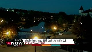 Waukesha ranks as best city to live in Wisconsin, 36th best in country - Video