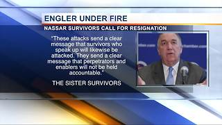120 Nassar survivors say John Engler 'has failed miserably,' call for his removal