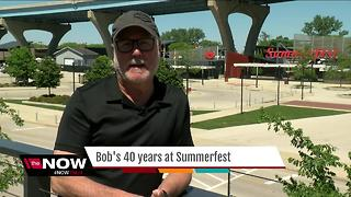 Babisch on his 40 years with Summerfest