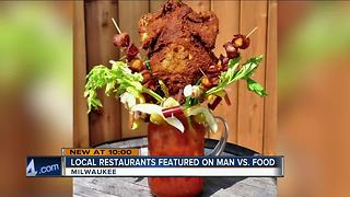 Man v. Food features Sobelman's 'chicken beast' Bloody Mary - Video