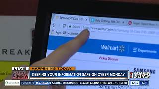 Safety on Cyber Monday - Video