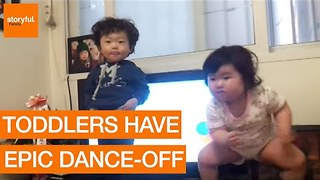 Adorable Toddlers Have Epic Dance-Off - Video