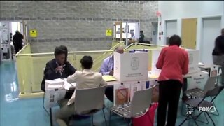 Early voting begins in Lee and Collier County.