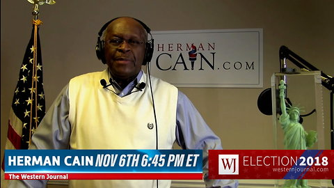 Herman Cain Election Night Promo 1 Min