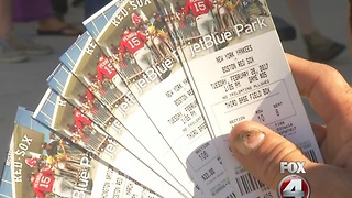 Red Sox Spring Training Tickets