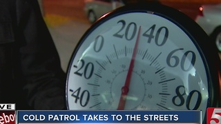 Nashville Rescue Mission Conducts Cold Patrol - Video