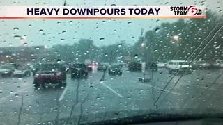 Heavy Downpours- Umbrella Needed - Video