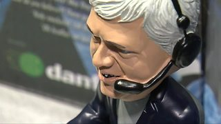 Rick Jeanneret honored with talking bobblehead - Video