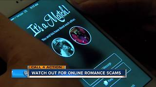 Watch out for online romance scams