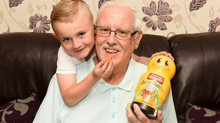 Brave Six-Year-Old Saves Great Granddad's Life By Feeding Him Jelly Babies