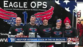 Veterans Day: Organizations helping veterans stuck in the VA backlog - Video