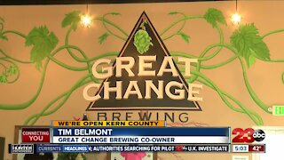 Great Change Brewing hits two-year anniversary during pandemic