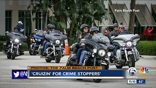 'Cruizin' for Crime Stoppers' held - Video