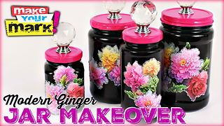 Modern ginger jar makeover - Video