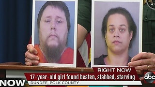 17-year-old girl found beaten, stabbed, starving - Video