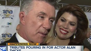 Condolences for actor Alan Thicke - Video