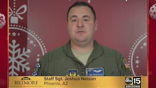Military greetings from Sgt. Joshua Nelson - Video