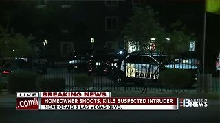 Las Vegas police investigate deadly 'self-defense' shooting - Video