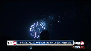 Travel Expectations for Fourth of July Weekend