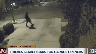 Thieves taking garage door openers across Las Vegas valley - Video