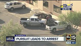 DPS: Suspect in custody after Interstate 17 pursuit - Video