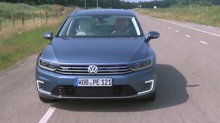 Test: VW Passat GTE - Plug-in Hybrid - Video