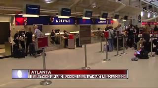 Travel getting back to normal after Atlanta power outage