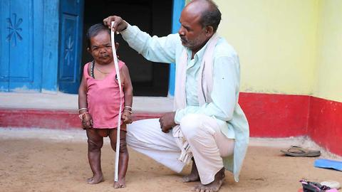 This Is The Shortest Middle-Aged Man In India At Only 29 Inches Tall