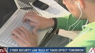 Cyber security law 'Rule 41' takes effect tomorrow - Video
