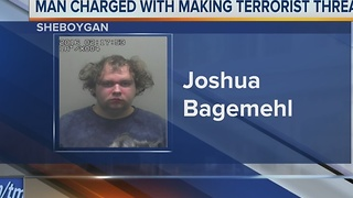 Sheboygan man accused of making terrorist threats on Facebook - Video