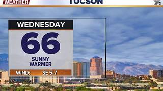 Chief Meteorologist Erin Christiansen's KGUN 9 Forecast Tuesday, January 3, 2017