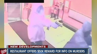 Jordan's Fish & Chicken offers $50,000 reward for double homicide info - Video