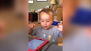 Baby DJ Loves To Rock - Video