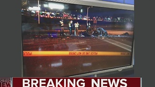 Deadly crash between bus and car in Arizona - Video