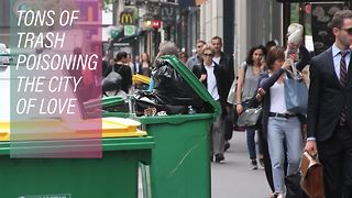 France produces an 'Eiffel Tower of trash' per year - Video