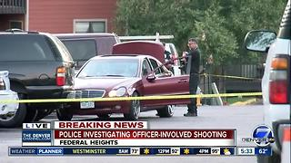 Police shoot, kill armed suspect at Federal Heights apartment complex - Video