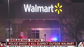 1 dead following officer-involved shooting at Olathe Walmart - Video