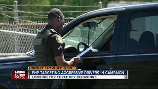 State troopers ticketing aggressive drivers around the Bay this weekend - Video