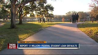 USDE: Millions of Americans defaulting on student loans - Video