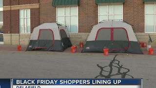 Delafield group already camped out for Black Friday sales - Video