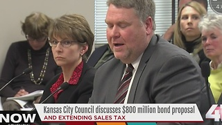 Kansas City Council discusses $800 million bond proposal - Video